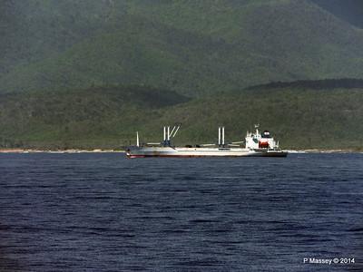 FRIO IONIAN having departed Santiago de Cuba 06-02-2014 11-02-12