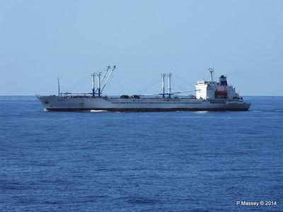 FRIO IONIAN having departed Santiago de Cuba 06-02-2014 11-08-15