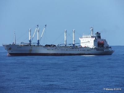FRIO IONIAN having departed Santiago de Cuba 06-02-2014 11-07-11