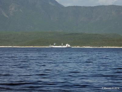 FRIO IONIAN having departed Santiago de Cuba 06-02-2014 10-55-35