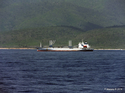 FRIO IONIAN having departed Santiago de Cuba 06-02-2014 11-02-25