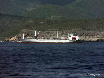 FRIO IONIAN having departed Santiago de Cuba 06-02-2014 11-01-07