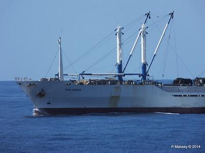 FRIO IONIAN having departed Santiago de Cuba 06-02-2014 11-07-34