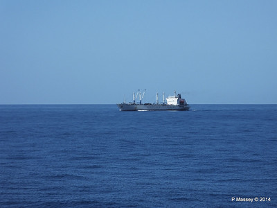FRIO IONIAN having departed Santiago de Cuba 06-02-2014 11-06-57