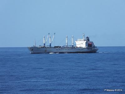 FRIO IONIAN having departed Santiago de Cuba 06-02-2014 11-07-02