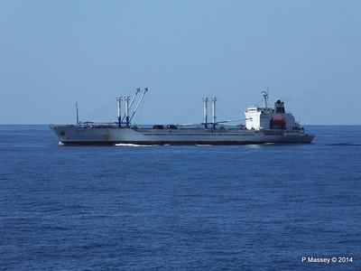 FRIO IONIAN having departed Santiago de Cuba 06-02-2014 11-08-08