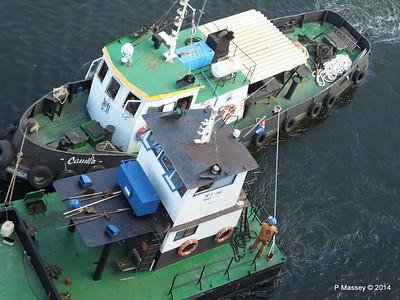 CAMILO tug LA HABANA waste disposal 10-02-2014 10-10-12