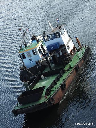 CAMILO tug LA HABANA waste disposal 10-02-2014 10-09-30