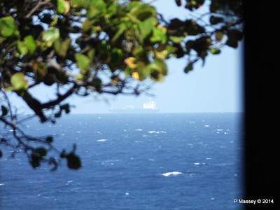 Unknown Vessel at distance 02-02-2014 14-56-54