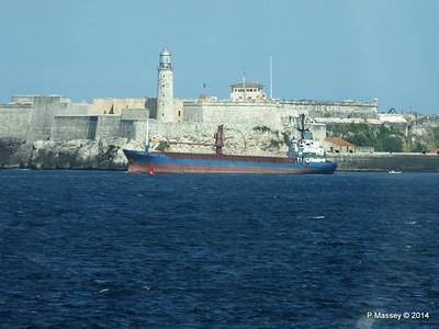 PETREL Departing Havana 01-02-2014 14-50-36