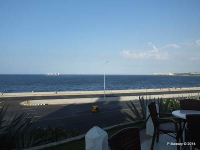 SCL ANITA Departing Havana from Hotel Nacional de Cuba 01-02-2014 16-30-11