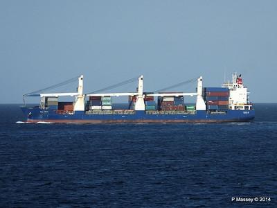 SCL ANITA Departing Havana 01-02-2014 16-29-41
