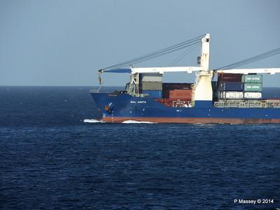 SCL ANITA Departing Havana 01-02-2014 16-28-53