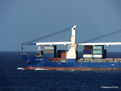 SCL ANITA Departing Havana 01-02-2014 16-30-23