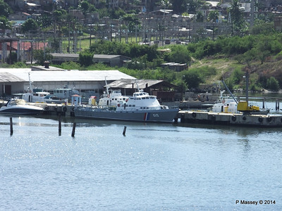 6 Cuban Coast Guard Vessels 015 Santiago de Cuba 06-02-2014 11-40-18