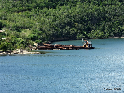 Wrecks W Bay of Santiago de Cuba maybe bunkering barges 06-02-2014 11-22-42