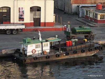 Santiago de Cuba Workboats, Tugs & Wreck 6 Feb 2014