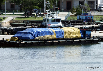 CARIBE II and barge maybe PT TANIA X 06-02-2014 11-40-29