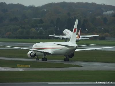 A9C-HMH Bahrain Royal Flight 767 Germanwings Airbus A319 D-AGWX HAM PDM 08-11-2014 11-37-23