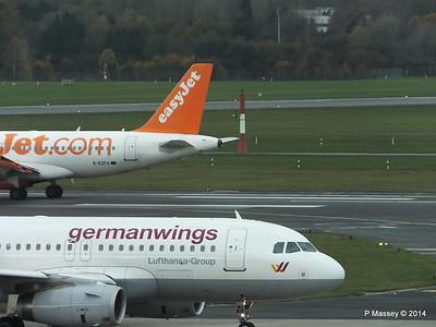 Germanwings D-AGWX easyJet G-EZFH HAM PDM 08-11-2014 11-32-015