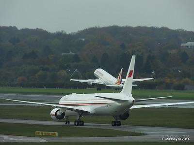 A9C-HMH Bahrain Royal Flight 767 Germanwings Airbus A319 D-AGWX HAM PDM 08-11-2014 11-37-024