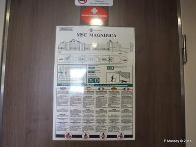 Escape Route Cabin 9018 MSC MAGNIFICA PDM 08-11-2014 13-53-30