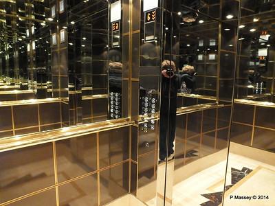 Aft Elevator Lift MSC MAGNIFICA PDM 10-11-2014 10-15-07
