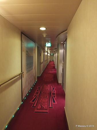 Deck 14 Cabin Hallway MSC MAGNIFICA PDM 09-11-2014 15-49-29
