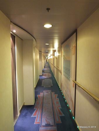 Deck 9 Cabin Hallway MSC MAGNIFICA PDM 09-11-2014 15-47-00