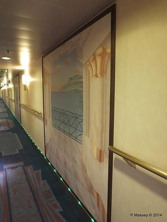 Deck 9 Cabin Hallway MSC MAGNIFICA PDM 09-11-2014 15-47-26