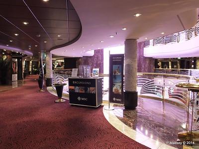 Atrium Deck 6 stb Shore Excursions MSC MAGNIFICA PDM 10-11-2014 10-27-023
