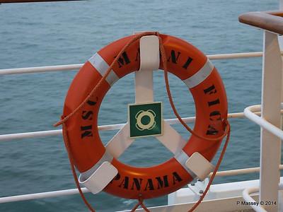 MSC MAGNIFICA Lifebelt Deck 14 aft PDM 09-11-2014 17-23-58