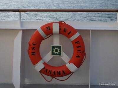 Lifebelt Deck 15 stb aft MSC MAGNIFICA PDM 09-11-2014 17-30-14