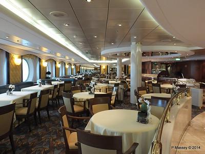 La Caravella Dining Room aft Aida Deck 5 MSC OPERA PDM 06-10-2014 16-26-34