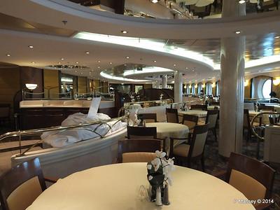 La Caravella Dining Room aft Aida Deck 5 MSC OPERA PDM 06-10-2014 16-26-00