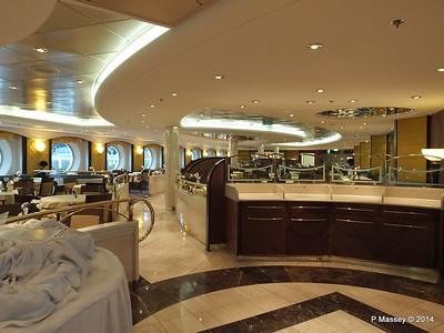La Caravella Dining Room aft Aida Deck 5 MSC OPERA PDM 06-10-2014 16-27-05