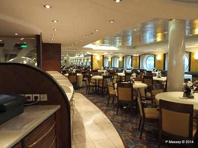 La Caravella Dining Room aft Aida Deck 5 MSC OPERA PDM 06-10-2014 16-27-12