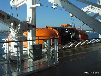 MSC OPERA ready for Lifeboat Testing Southampton  PDM 07-10-2014 09-35-54