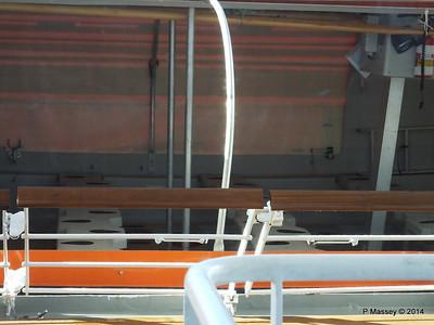 MSC OPERA ready for Lifeboat Testing Southampton  PDM 07-10-2014 09-36-21