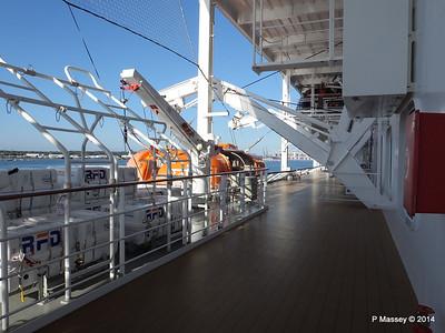 MSC OPERA ready for Lifeboat Testing Southampton  PDM 07-10-2014 09-35-39