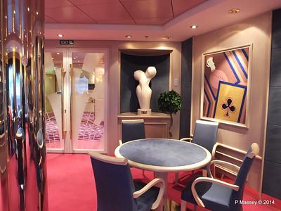 Library Card Room stb Caruso Lounge Rigoletto Deck 7 fwd MSC OPERA PDM 06-10-2014 18-22-23
