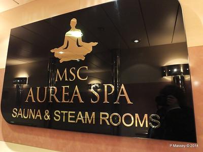 MSC Aurea Spa Sauna & Steam Rooms MSC OPERA PDM 06-10-2014 14-10-29