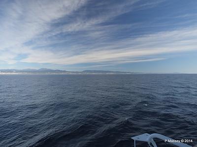 Spanish Coastline from MSC SINFONIA PDM 06-04-2014 08-35-02