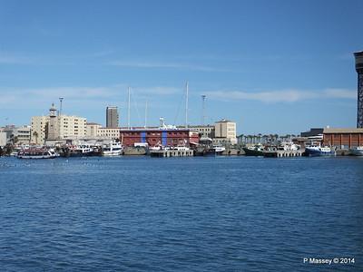 Across Nacional Basin to the Fishermans Wharf & Marina Barcelona PDM 06-04-2014 13-53-00
