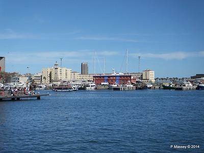 Across Nacional Basin to the Fishermans Wharf & Marina Barcelona PDM 06-04-2014 13-52-56