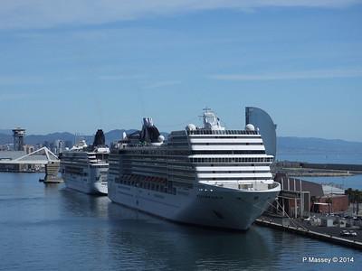 NORWEGIAN SIRIT MSC ORCHESTRA Barcelona PDM 06-04-2014 10-30-55