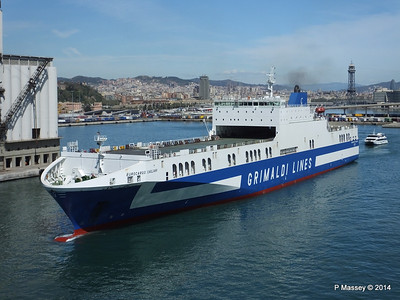 EUROCARGO CAGLIARI Departing Barcelona PDM 06-04-2014 10-46-27