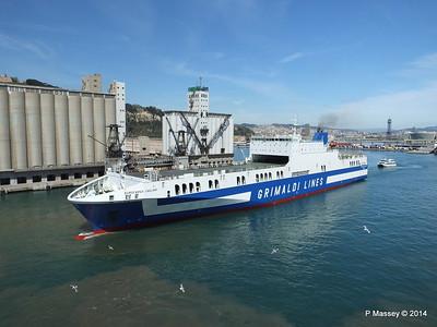 EUROCARGO CAGLIARI Departing Barcelona PDM 06-04-2014 10-46-58