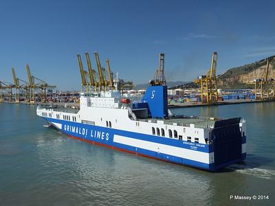EUROCARGO CAGLIARI Departing Barcelona PDM 06-04-2014 10-48-58