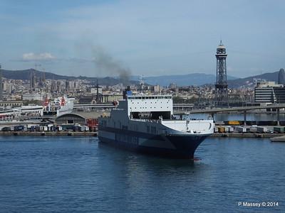 EUROCARGO CAGLIARI Departing Barcelona PDM 06-04-2014 10-43-40